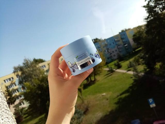 Bielenda - Bluberry C-TOX krem pianka do twarzy nawilżająco-rozświetlający