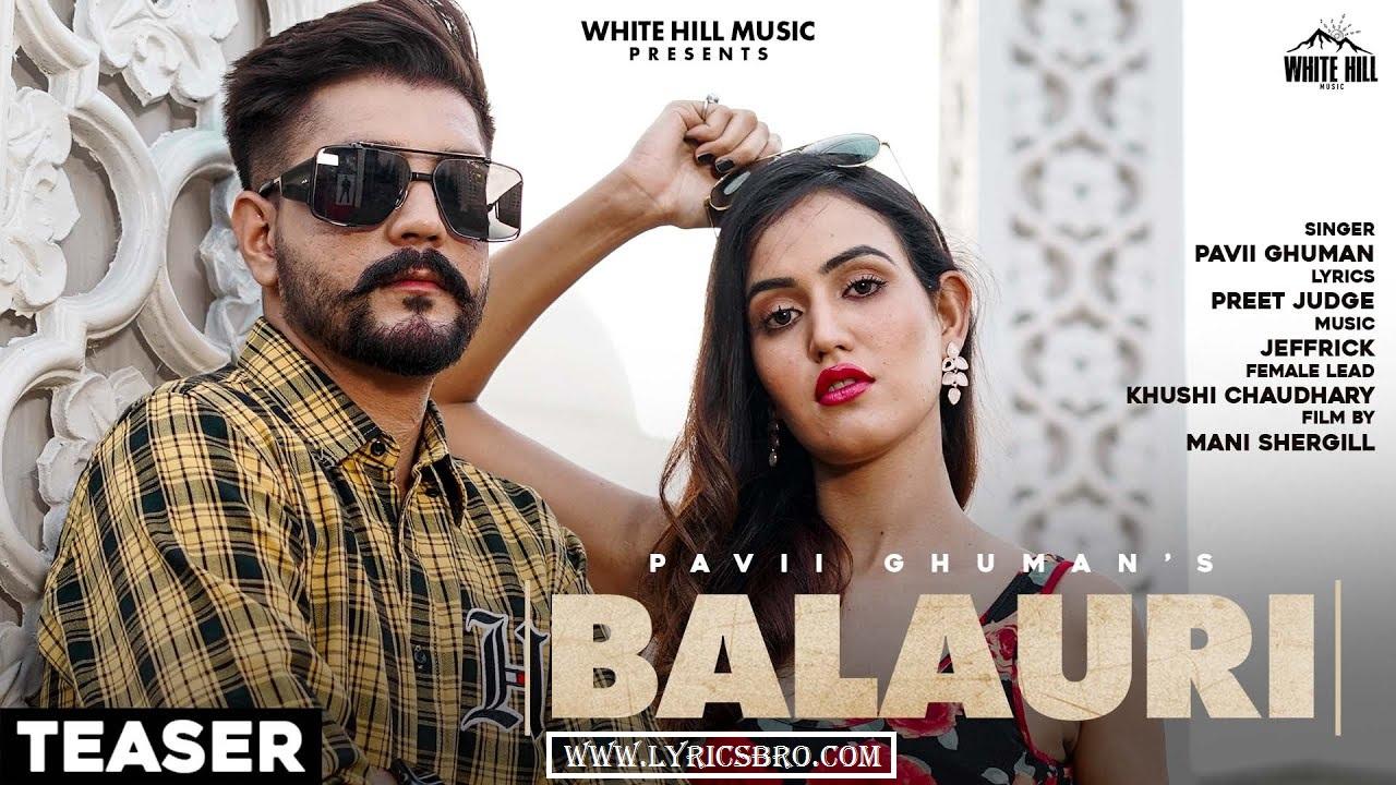 balauri-sad-song-lyrics,pavii-ghuman