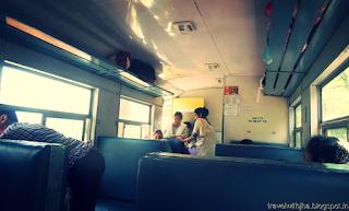 interior Of Toy Train