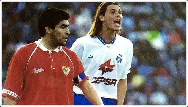 Maradona Redondo Sevilla Tenerife