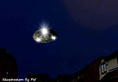 UFO Spotted Over Dalton