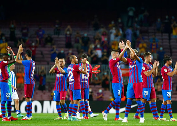 Barcelona won their first LaLiga match of the post-Lionel Messi era  #Momusicdate
