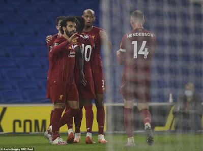 Video Brighton 1-3 Liverpool: Phủ đầu choáng váng, uy lực nhà vua