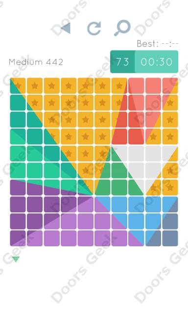 Cheats, Walkthrough for Blocks and Shapes Medium Level 442