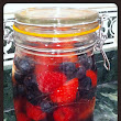 New Homemade Vitamin Water Recipe! Berries and Coconut Water!