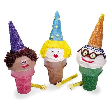 Wizard Cupcakes Recipe