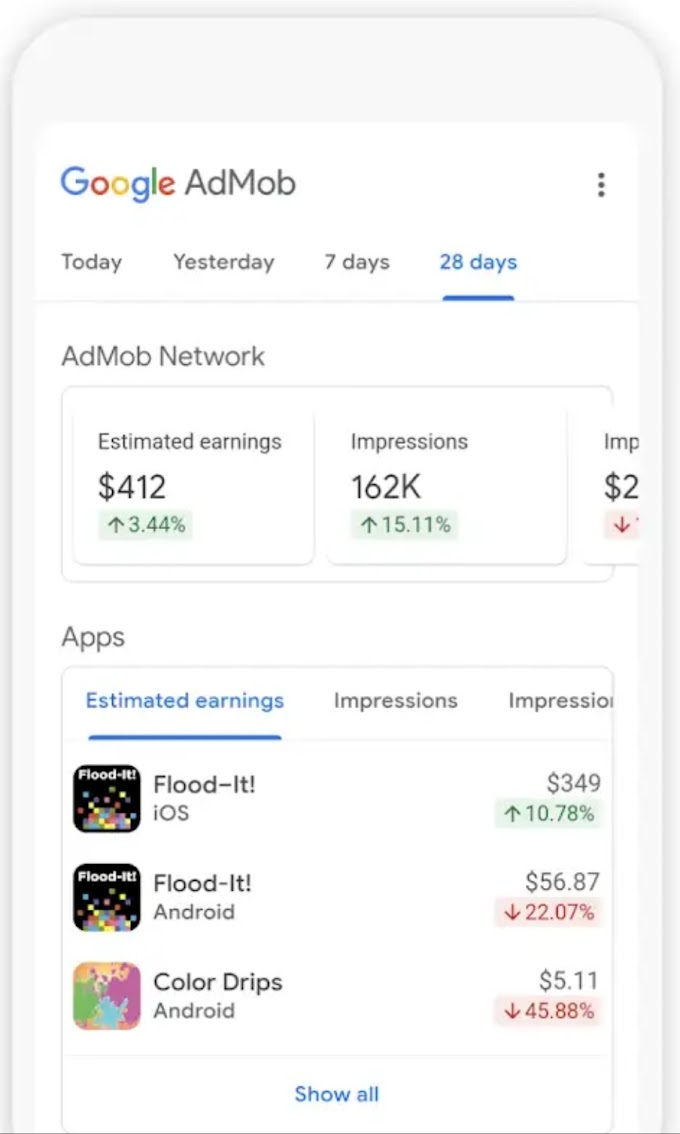 Google AdMob App Is Now Available For Android On Google Play Store - In Early Access