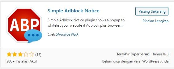 7 Plugin Anti AdBlock Terbaik Di Wordpress
