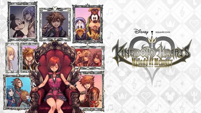 Kingdom Hearts: Melody of Memory é lançado no Switch