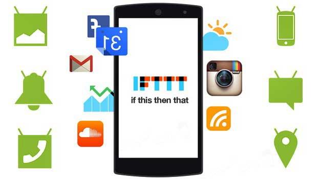 """شرح موقع IFTTT للكمبيوتر وشرح تطبيق IFTTT للاندرويد وايفون لنشر المواضيع تلقائيا على مواقع التواصل الاجتماعي وجعل الهاتف يقوم باوامر بشكل تلقائي. تطبيق IFTTT  شرح IFTTT ما هو IFTTT . """" If this then that """""""