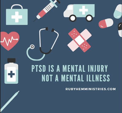 PTSD Is a Mental Injury, Not a Mental Illness