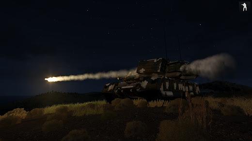 Arma3に重戦車を追加するX66 Mammoth Tank MOD