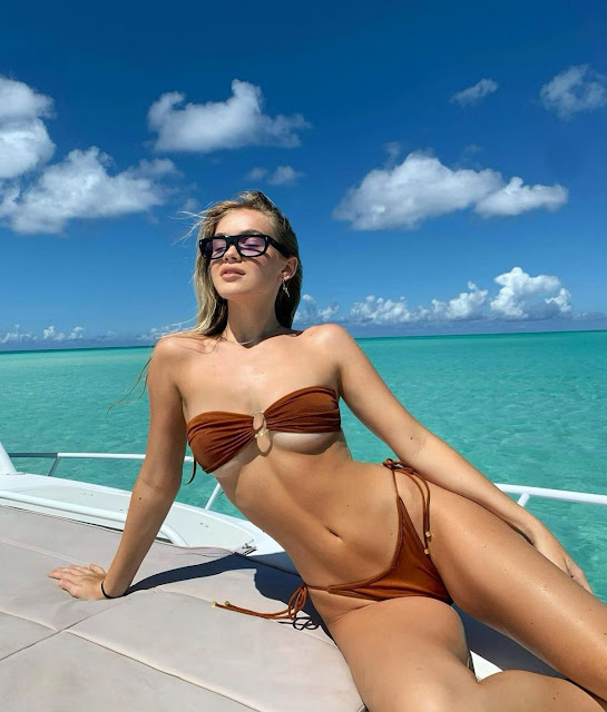 FAITH SCHRODER in Bikini – Instagram Video and Photo
