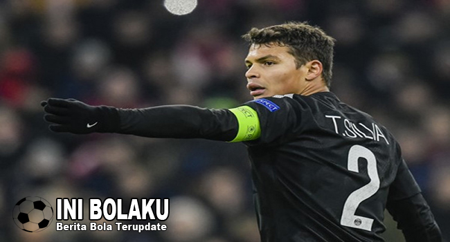 Thiago Silva Akui Sulit Tolak Tawaran Dari AC Milan