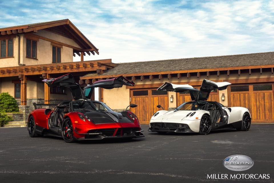 Red Pagani Huayra BC Delivered To Benny Caiola's Family - carscoops.com
