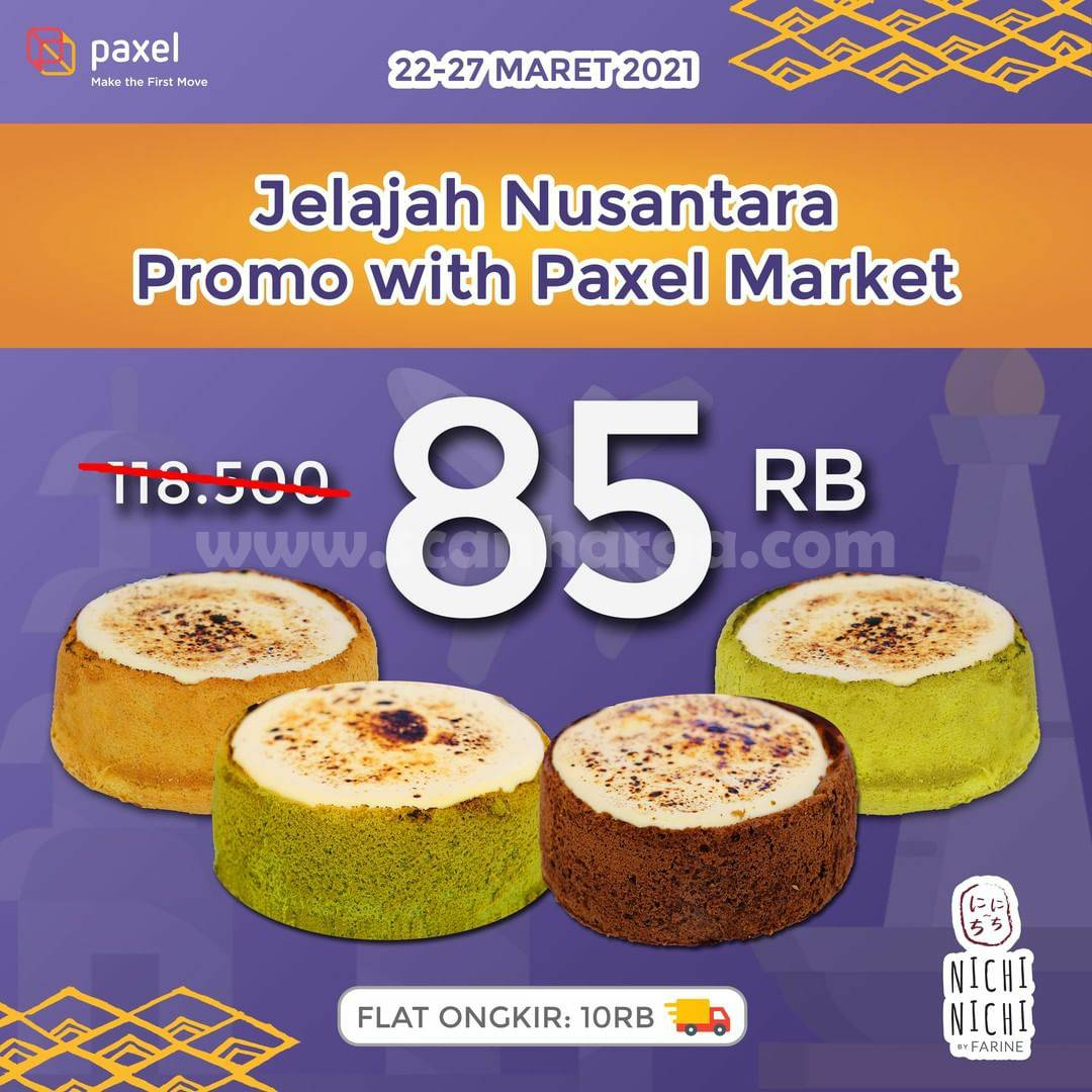 Promo Nichi Nichi Jelajah Nusantara Bersama Paxel Market