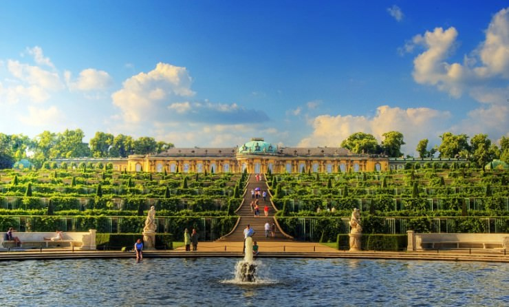 Top 10 Wonderful German Castles - Sanssouci Palace