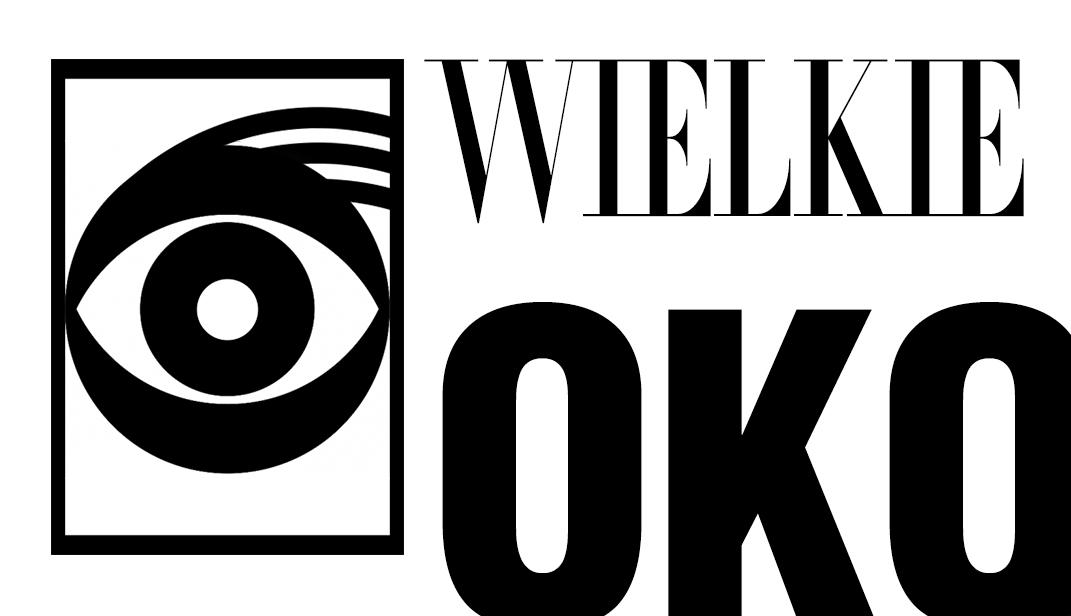 Logo dla Wielkie Oko. Grafika, logo, logotyp, identyfikacja wizualna