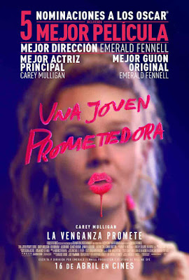 UNA JOVEN PROMETEDORA - cartel español de la pelicula