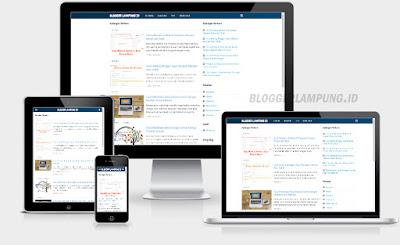 Cara memilih template blog