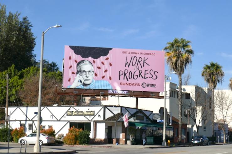 Work in Progress season 1 billboard