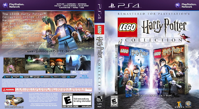 Capa LEGO Harry Potter Collection PS4 [Exclusiva]