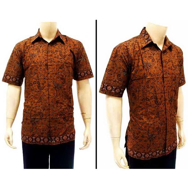 Kemeja Dari Batik Tulis: Kemeja Pria Batik Tulis Solo KODE : BP 3353