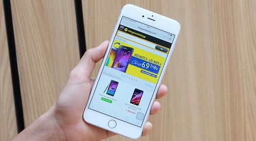 Dấu hiệu màn hình iPhone 6 phải thay mới