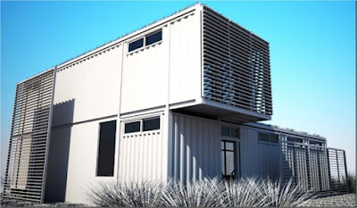 converting a shipping container into a house