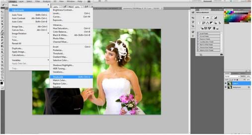 Cara Edit Foto Nikah Atau Foto Wedding Di Photoshop