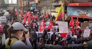 VIDEO: Gewalttätige US-gestützte Mobs nach Hongkong-Vorbild machen weiter in Thailand