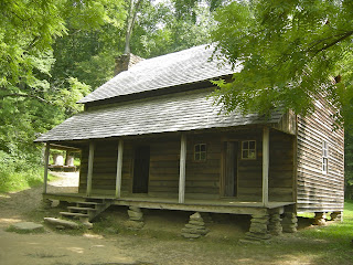 a Cades Cove Cabin you can go inside and explore