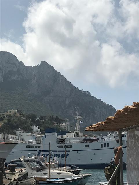 island of capri boat tour