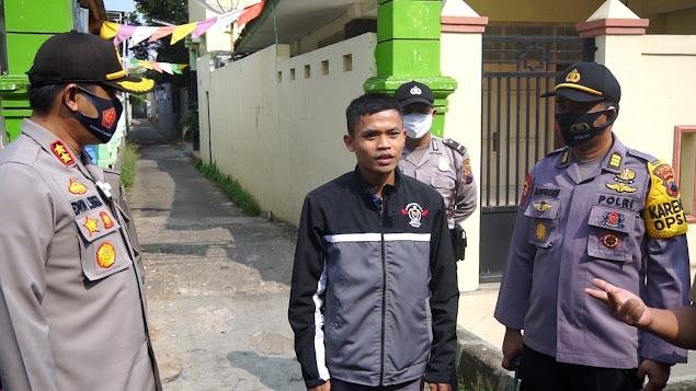 Polres Batang Bersama Intansi Terkait Gelar Operasi Yustisi Penanggulangan Covid-19, 35 Orang Kedapatan Tidak Memakai Masker