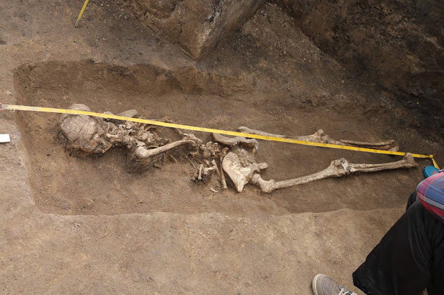 Possible 'witch' burial found in Ukraine