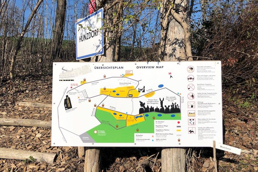 Übersicht plan Essbarer Tiergarten