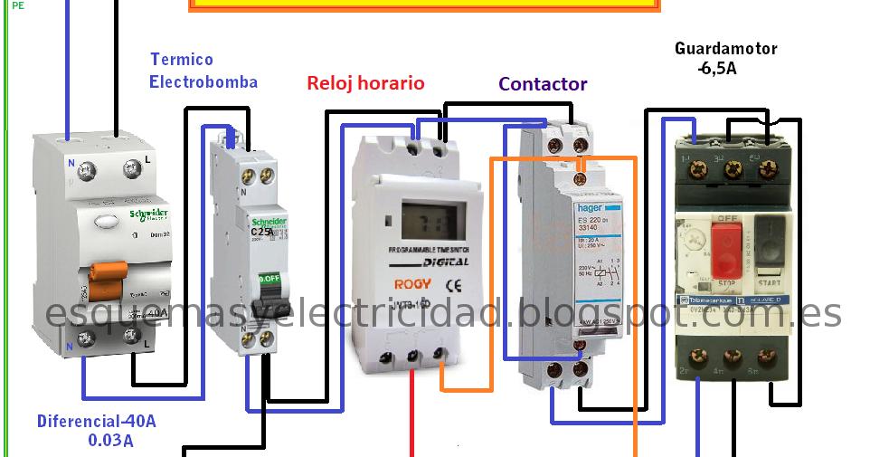 Montaje De Cuadro Electrico Para Electrobomba De 1cv