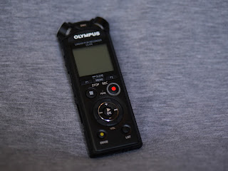 Olympus LS-P4 initial test