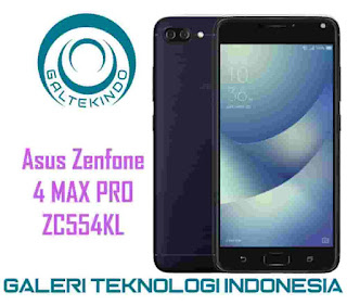 Cara Terbaru Flash Asus Zenfone 4 Max Pro ZC554KL via AFT