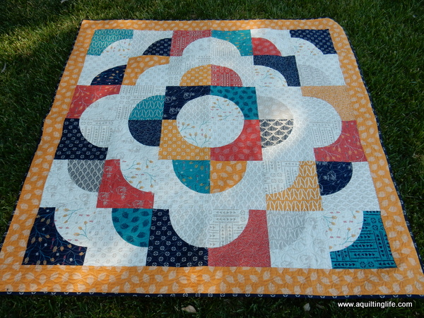 Curved Piecing and a Free Quilt Pattern | A Quilting Life