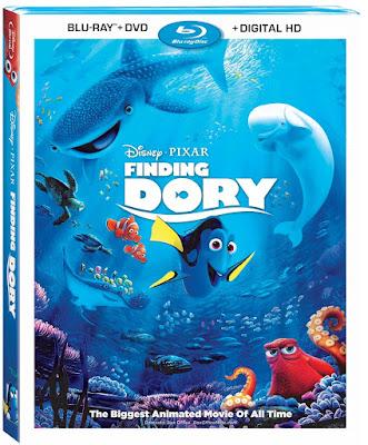 Finding Dory DVD DisneyPixar