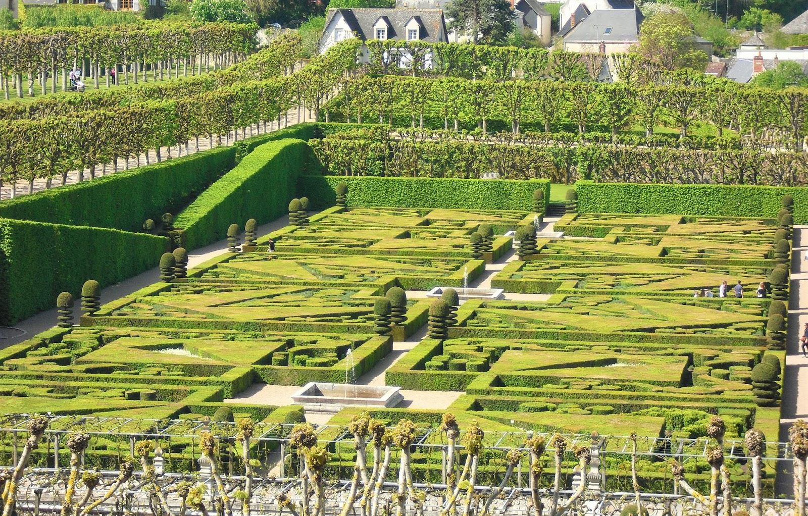 Mon petit jardin en sologne le jardin du ch teau de villandry for Le jardin francais