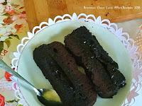 Resep Brownies Choco Lava Kukus Lumer