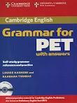 Cambridge Grammar for PET with answers (Bản mới cực đẹp)   PDF+CD