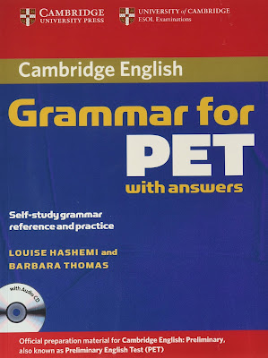 Cambridge Grammar for PET with answers pdf cd