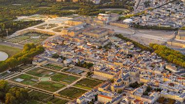Los jardines del palacio de Versalles desde el aire en 11 fotografías