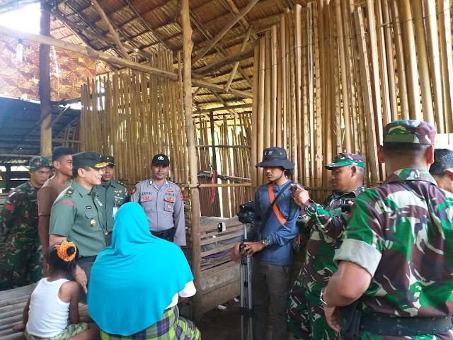 Tim Wasev Mabes TNI AD Kunjungi RTLH Di Desa Plue Pakam