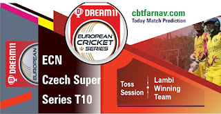 Today match prediction ball by ball ECN T10 Bohemian CC vs Prague Barbarians Vandals 2nd 100% sure Tips✓Who will win Bohemian vs Barbarians Match astrology