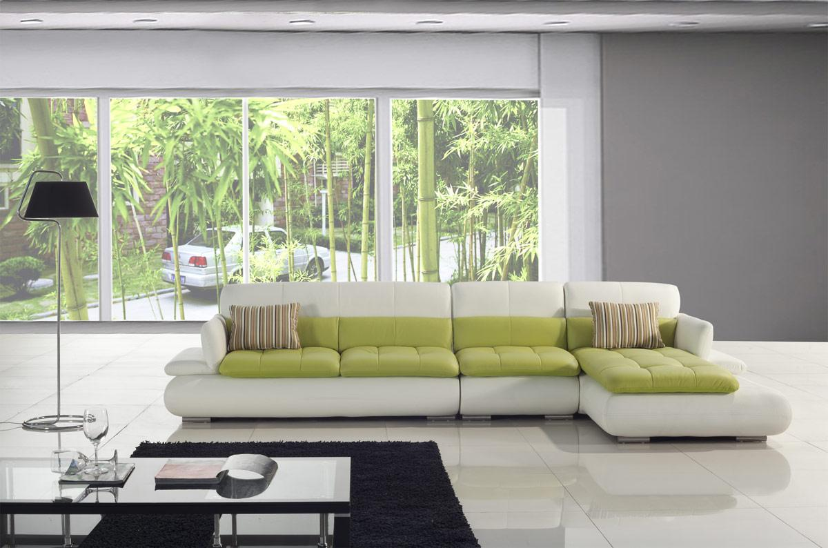 Living room decorating ideas sage green couch living for Sofas grandes modernos
