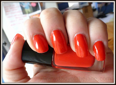 Lancome Vernis in Love Miss Coquelicot